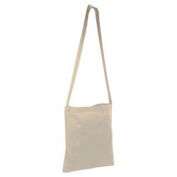 Sac shopping en toile de jute - Bleu
