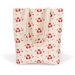 Tote bag de couleurs personnalisés Couleur:bleu surf