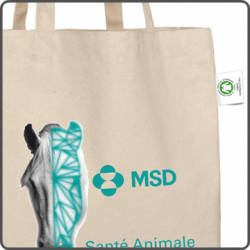 Tote bag bio personnalisable