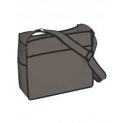 Porte documents personnalisable - Gris anthracite
