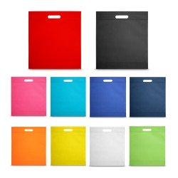 Cabas publicitaires bi colore polyester 600d Couleur:Vert