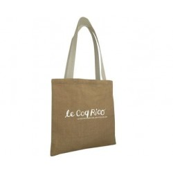 tote bag personnalisable en jute