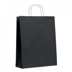 Trousse de toilette en PVC transparent Paulo Couleur:Noir
