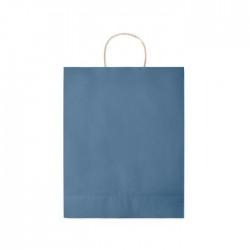 Trousse de toilette en PVC transparent Paulo Couleur:Bleu
