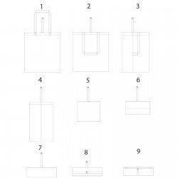 Sac de convention Bloomington Couleur:Violet