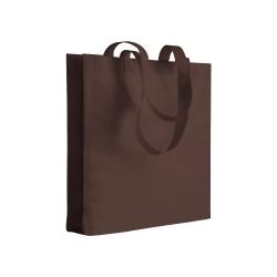 Sac En Jute Avec Coutures Contrastées Couleur:Arandano Red / Natural